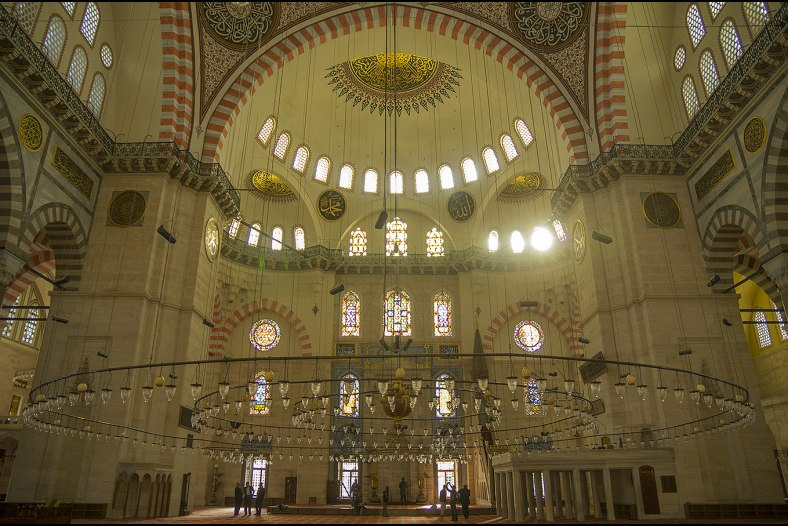 Suleiman Mosque at Instanbul